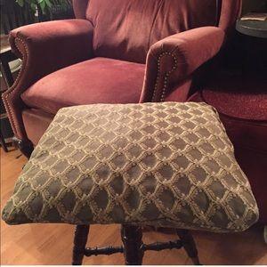 """Vintage Pillow ~ 19"""" square"""